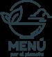 logotipo menu por el planeta